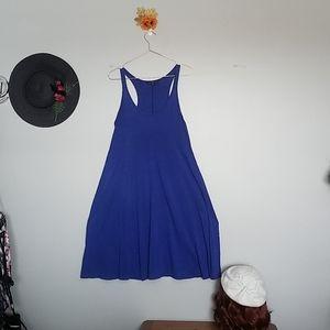 Gap Cobalt Tank Dress